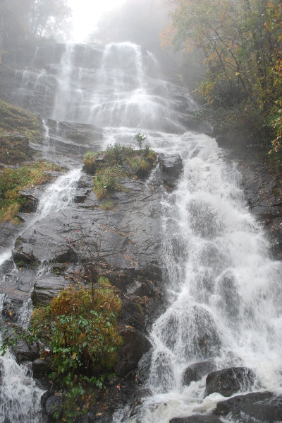 """AMICALOLA FALLS is the largest waterfall east of the Mississippi River. Located in the foothills of northern Georgia the falls are named after a Cherokee term Um-Ma-Calo-La meaning """"Tumbling Waters."""" (Photo by Jeffrey Powell)"""