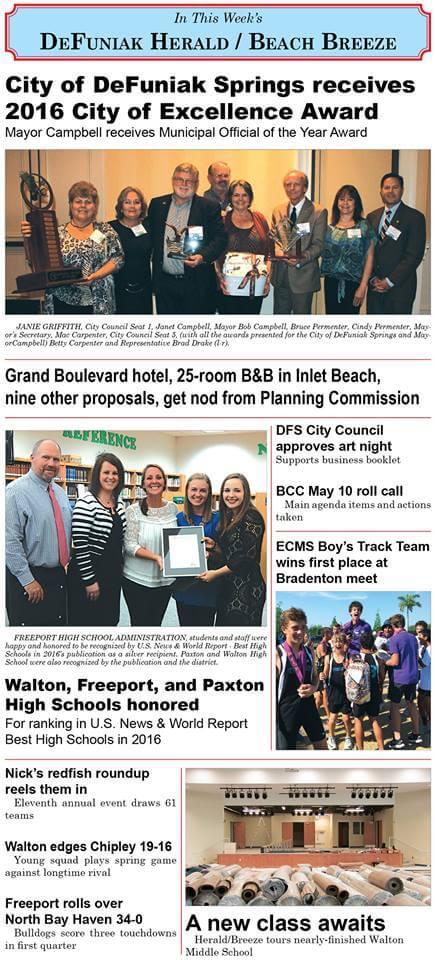 DeFuniak Herald Beach Breeze this week