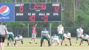 Spring football is underway with Freeport playing at Bozeman on Thursday night while Walton will travel to Chipley on Friday night withSouth Waltonmaking a visitto Baker for spring contests. (Photo by Patrick Casey)