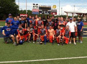 THE FREEPORT HIGH SCHOOL football team attended a 3-day team camp at Mississippi Gulf Coast Community College last week and finished in second place out of eight teams.