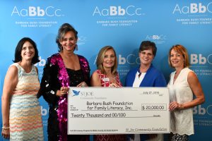 Barbara Bush Foundations for Family Literacy_Check Presentation Aug
